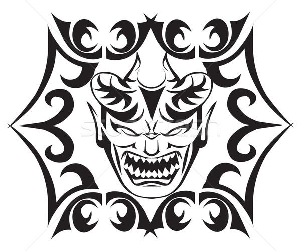 монстр татуировка дизайна Vintage Сток-фото © Morphart