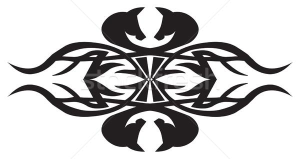 部族 入れ墨 デザイン ヴィンテージ 彫刻 刻ま ストックフォト © Morphart