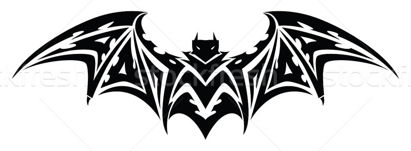 Bat tattoo, vintage engraving. Stock photo © Morphart