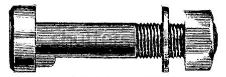 Arma da fuoco fucile vintage inciso illustrazione Foto d'archivio © Morphart