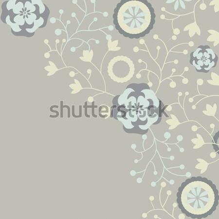 ヴィンテージ エレガントな レトロな フローラル デザイン ストックフォト © Morphart