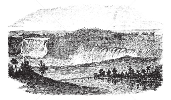 Niagara Falls toronto ontario Canada New York USA Stockfoto © Morphart