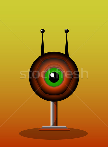One-Eyed Creature, illustration Stock photo © Morphart