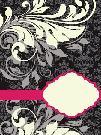 ストックフォト: ヴィンテージ · エレガントな · 抽象的な · フローラル