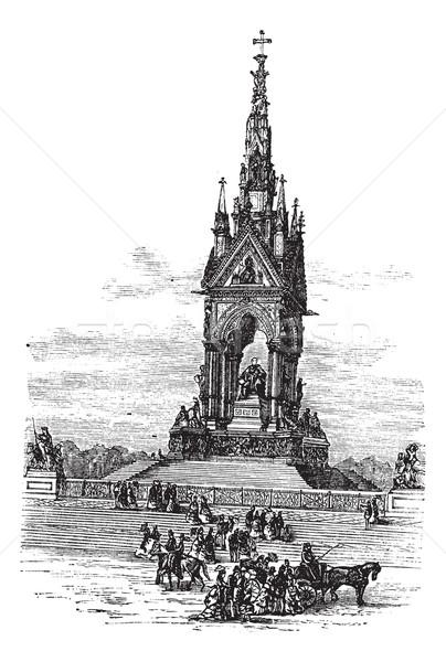 Kruis Engeland Verenigd Koninkrijk vintage oude Stockfoto © Morphart