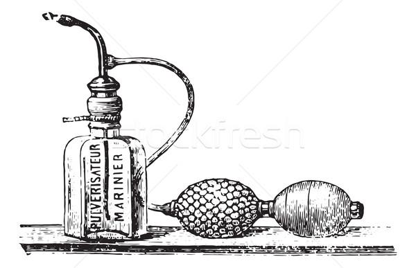 Mariner spray, vintage engraving. Stock photo © Morphart