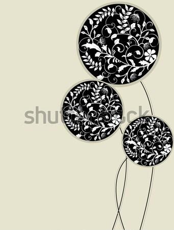 Abstract bloemen plaats voorjaar ontwerp schoonheid Stockfoto © Morphart