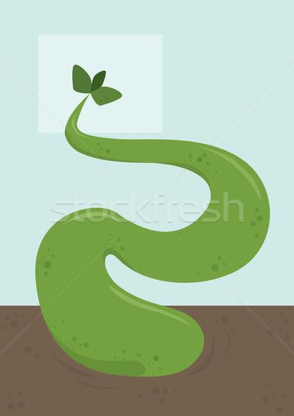 Plant Monster, illustration Stock photo © Morphart