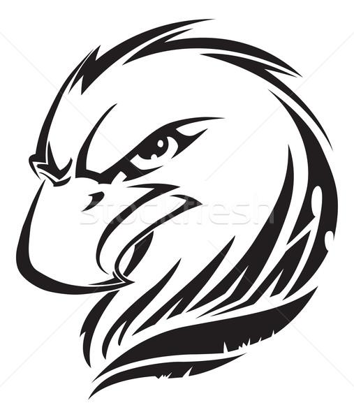 Как рисовать орла тату
