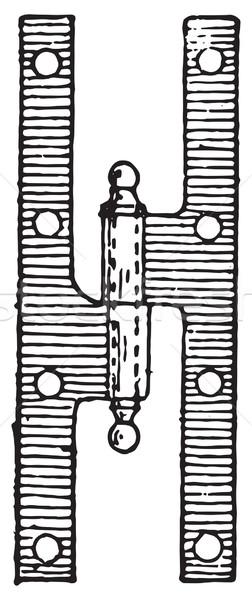 Menteşe bağbozumu oyma oyulmuş örnek sözlük Stok fotoğraf © Morphart