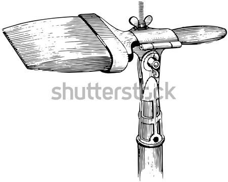 Flanged Mace, vintage engraving Stock photo © Morphart