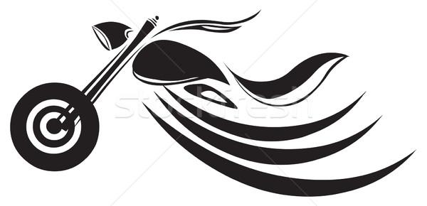 バイク 入れ墨 デザイン ヴィンテージ 彫刻 刻ま ストックフォト © Morphart