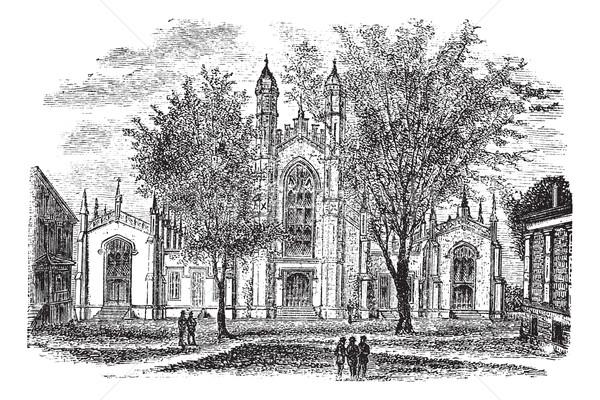 Universidade biblioteca novo Connecticut EUA Foto stock © Morphart