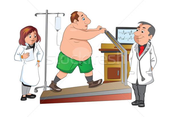 Physical Checkup, illustration Stock photo © Morphart