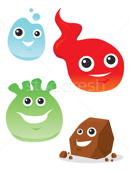 Colorful Creatures, illustration Stock photo © Morphart