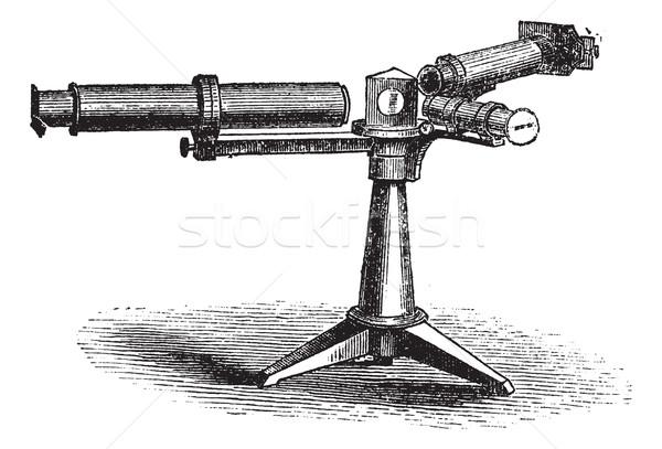 Spectroscope or Spectrometer vintage engraving Stock photo © Morphart