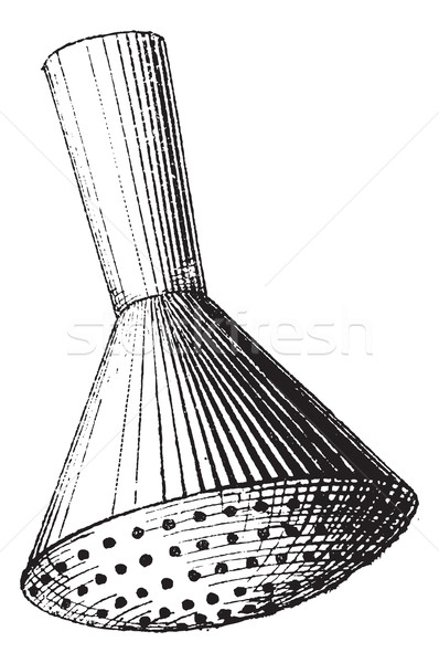 Sprinkler head, vintage engraving. Stock photo © Morphart