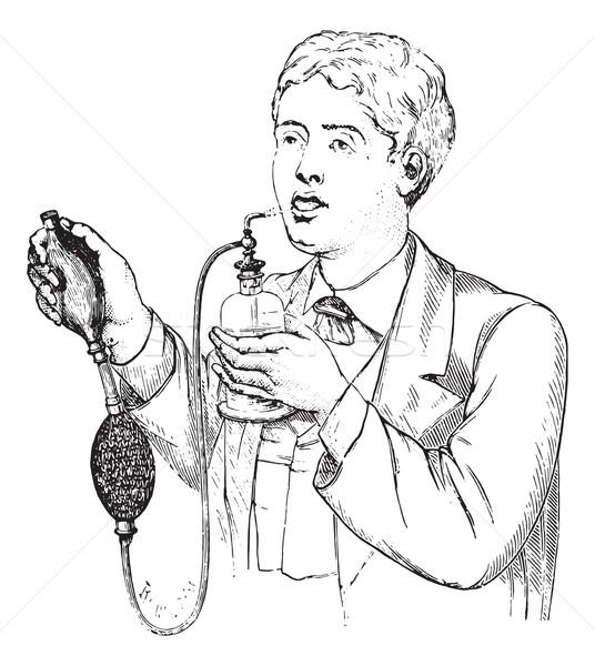 スプレー ヴィンテージ 彫刻 刻ま 薬 辞書 ストックフォト © Morphart