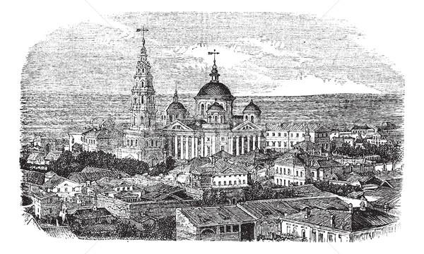 храма Вселенной Россия Vintage Сток-фото © Morphart