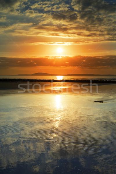 ビーチ 方法 アイルランド 美しい ストックフォト © morrbyte