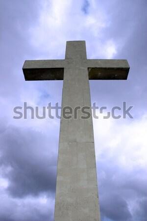 острове крест конкретные Top несут пробка Сток-фото © morrbyte