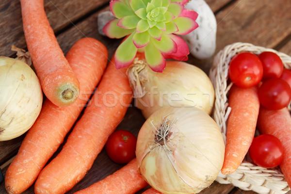 Здоровый образ жизни Экологически чистые продукты питания продовольствие природы Сток-фото © morrbyte