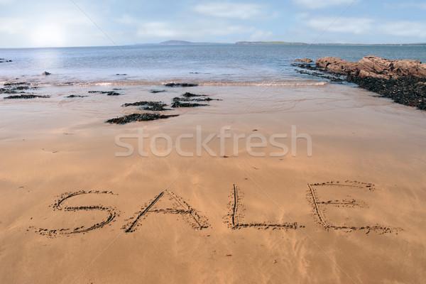 beach sale Stock photo © morrbyte