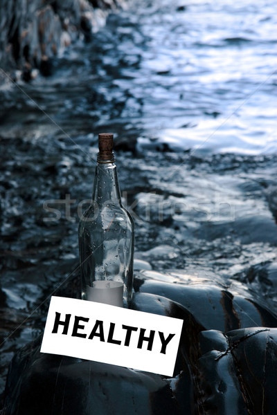 water is healthy Stock photo © morrbyte