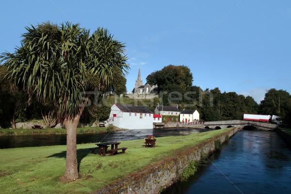 castletownroche country scene Stock photo © morrbyte