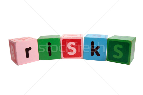 risks in toy play blocks Stock photo © morrbyte