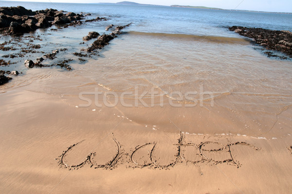 tide water Stock photo © morrbyte