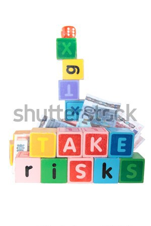 sell in toy play blocks Stock photo © morrbyte