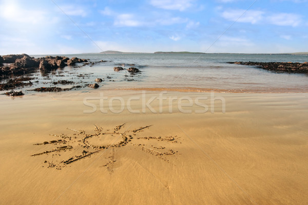 sunshine beach Stock photo © morrbyte