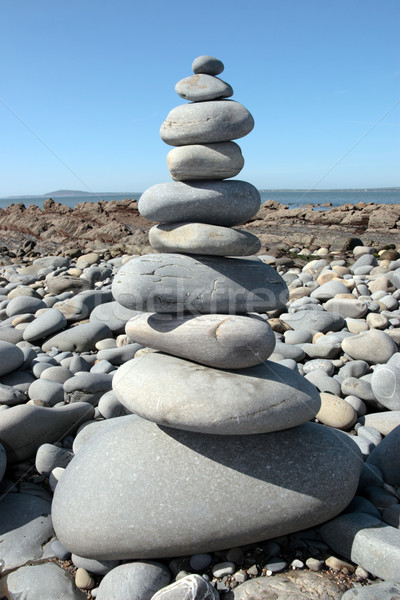 balanced stone Stock photo © morrbyte
