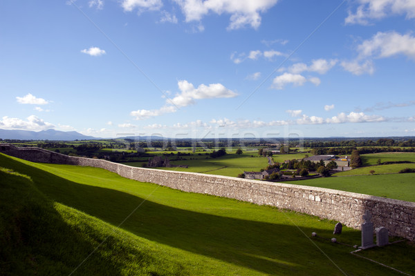 rock of Cashel view Stock photo © morrbyte