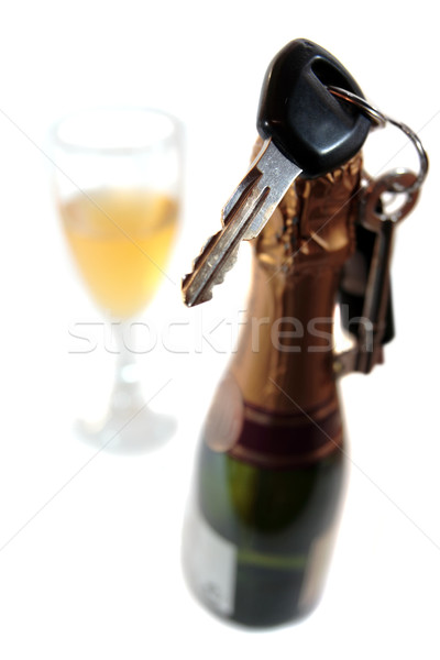 do not celebrate and drive with drinking Stock photo © morrbyte
