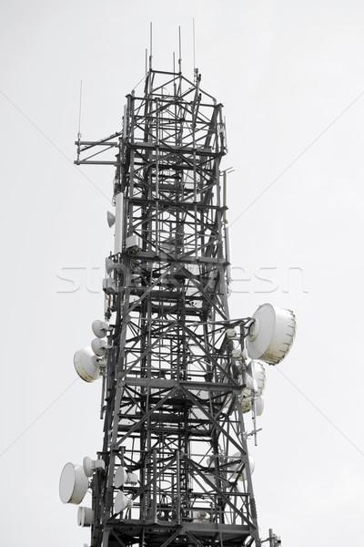 コミュニケーション 塔 白 空 アイルランド 電話 ストックフォト © morrbyte