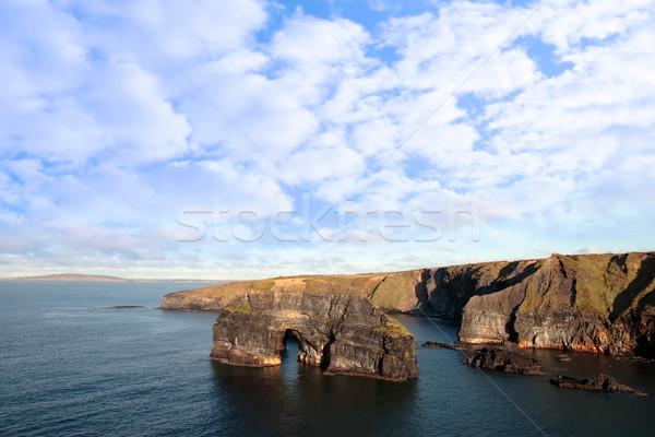 Vergine rock view Irlanda Foto d'archivio © morrbyte