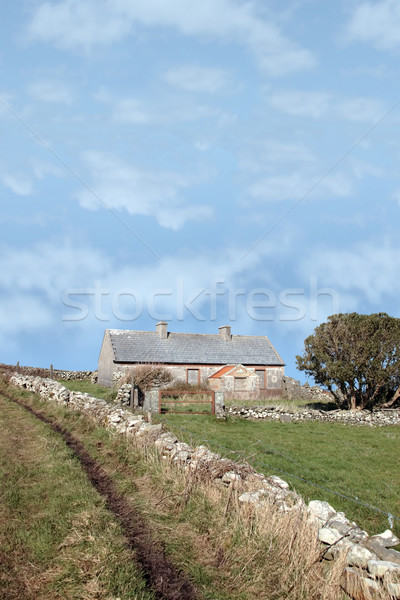Stock photo: abandoned home