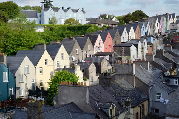 Görmek kasaba sokak mantar İrlanda Stok fotoğraf © morrbyte