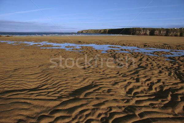 Spiaggia view ovest costa Irlanda cielo Foto d'archivio © morrbyte