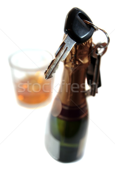 do not celebrate and drive with drink Stock photo © morrbyte