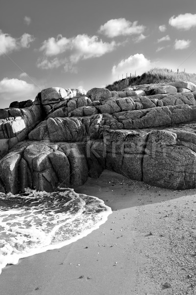rocky beach in county Donegal Stock photo © morrbyte