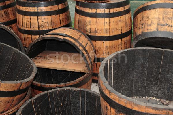 barrels Stock photo © morrbyte