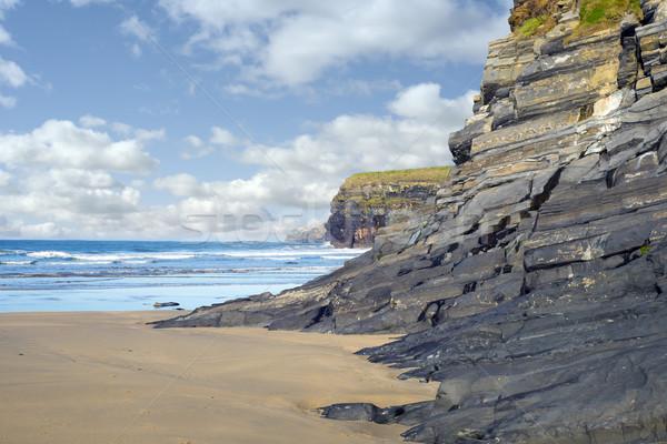 Selvatico Irlanda spiaggia modo natura Foto d'archivio © morrbyte