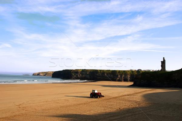 ビーチ クリーン 美しい アイルランド 午前 アップ ストックフォト © morrbyte