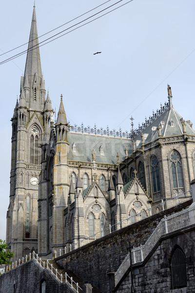 大聖堂 コルク アイルランド 家 雲 建物 ストックフォト © morrbyte