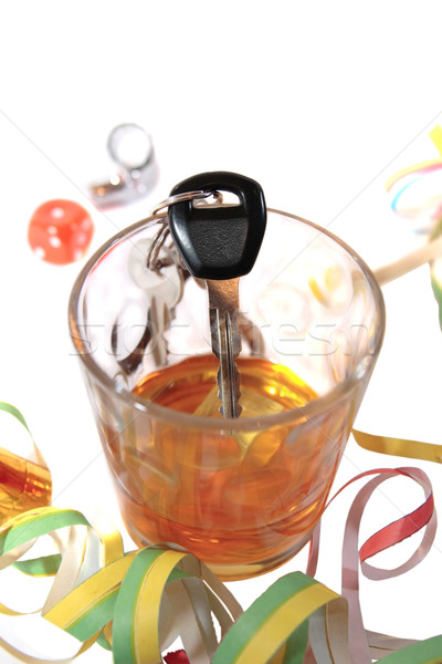 do not party and chance driving Stock photo © morrbyte