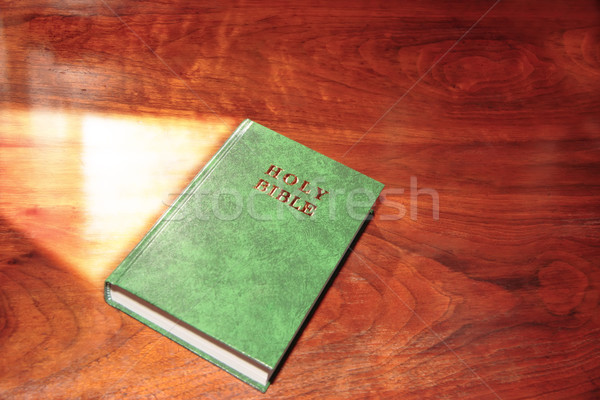 holy bible 1 Stock photo © morrbyte