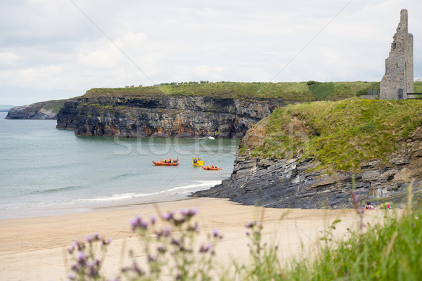 ballybunion sea and cliff rescue service vehicles Stock photo © morrbyte